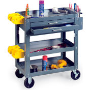 """Edsal Mobile Maintenance Cart - 28x16x34"""""""