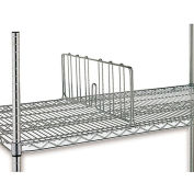 "7""H Shelf Divider For Open Wire Shelving - 18"""