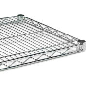 """Extra Shelf For Open Wire Shelving - 72X24"""" - Green Epoxy"""