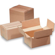 "Variable-Height 200-Lb. Test Corrugated Shipping Boxes - 12x12x12"" - Pkg Qty 25"