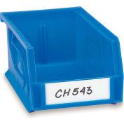 Aigner Bin Label Holder Kit - Slip-Strip Top-Loading - Pkg. Of 50