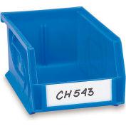Aigner Bin Label Holder Kit - Hole-Dex Side-Loading - Pkg. Of 50