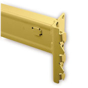 """Solid Beams For Pallet Rack - 108X4-3/16"""" - 1-5/8"""" Step Height"""