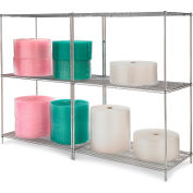 Relius Solutions Round-Post Wire Shelving