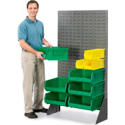 "Akro-Mils Louvered Panel Floor Rack 30638 - 18""x61"" Gray"