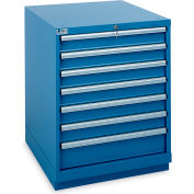 "Lista Standard-Width Drawer Cabinet - 28-1/4 X28-1/2 X35-7/8"" - 7 Drawers - Classic Blue"