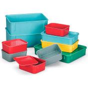LEWISBins Lid For Fiberglass Nesting Box - Fits Box 52564,52565 - Light Blue - Pkg Qty 48