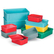LewisBins Lid For Fiberglass Nesting Box - Fits Box 52564,52565 - Gray - Pkg Qty 48