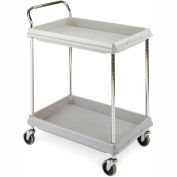 "Metro Deep-Ledge Utility Carts - 32""Wx21-1/2""D Shelf"