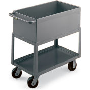 "Akro-Mils Welded Box Trucks - 36""Wx24""D Shelf"