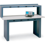 Edsal Electronic Riser For Electronic Workstations - 72X15X18""