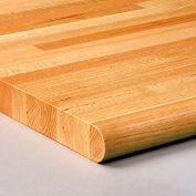 "Relius Solutions 1-3/4"" Butcher Block Oak Hardwood Tops By John Boos - 48X30"" - Comfort Edge"
