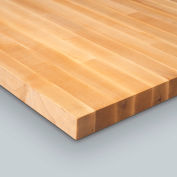 "Relius Solutions 1-1/2"" Butcher Block Maple Top By John Boos - 60X30"" - Square Edge"