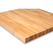 """Relius Solutions 1-1/2"""" Butcher Block Maple Top By John Boos - 72X30"""" - Square Edge"""