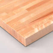 "Relius Solutions 1-3/4"" Butcher Block Birch Top By John Boos - 60X30"" - Square Edge"