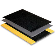 "Wearwell Soft Step Mat - 24X36"" - Black"