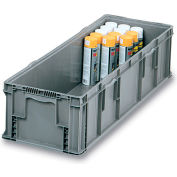 "Orbis Stakpak Long Box - 48X15X11"" - Gray"