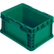 "Orbis Stakpak Container - 24X15X9-1/2"" - Green"