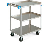 "Lakeside Stainless Steel Utility Carts - 27""Wx18""D Shelf - 500-Lb. Capacity"