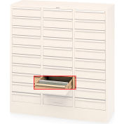 Tennsco Metal Dividers For 30-Drawer Cabinets - Package Of 30