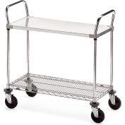 """Metro Galvanized/Wire Carts - 36""""W x 24""""D Shelf"""