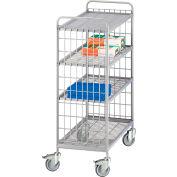 Eurokraft Wire Shelf Trucks - Wire Mesh Shelves - 3