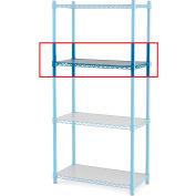"""Relius Elite Extra Shelf For High-Capacity Wire Shelving - 60X24"""" Blue"""
