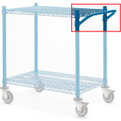 "Relius Elite Cart Handle For High-Capacity Wire Shelving - 18""W"