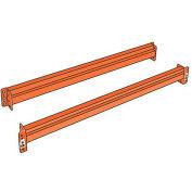 "Steel King Solid Beams For Boltless Pallet Racks - 120X5-1/2"""