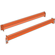 """Husky Rack & Wire IBX39108PR Pallet Rack Solid Beam - 108X4""""- Regular Duty - Two Piece"""