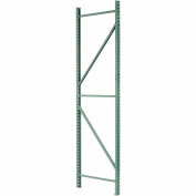 "Husky Rack & Wire Pallet Rack Teardrop Upright Frame - 36""D x 144""H"