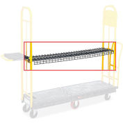 Rubbermaid Wire Shelf for StockMate U-Boat Trucks, 200 lbs. Capacity