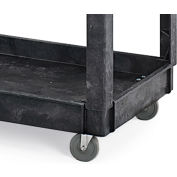Rubbermaid Replacement Casters For Economical Tray-Shelf Carts - Swivel