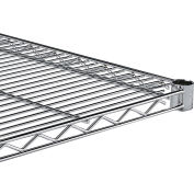 """Relius Solutions Extra Shelf For Wire Shelving With Chrome Finish - 36""""W"""
