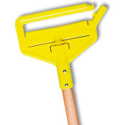 """Rubbermaid Mop Handle - Invader Side Gate Style - 60""""L - Wood"""