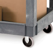 Relius Solutions Replacement Casters For Economical Tray-Shelf Carts - Rigid