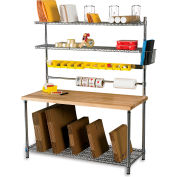 Relius Solutions Upper Cantilever Shelf Dividers For Packing Station