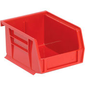 "Relius Solutions Hang And Stack Bins - 4-1/8 X5-3/8 X3"" - Red - Pkg Qty 24"