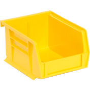 "Relius Solutions Hang And Stack Bins - 4-1/8 X5-3/8 X3"" - Yellow - Pkg Qty 24"