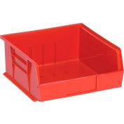 "Relius Solutions Plastic Bins - 11X10-7/8X5"" Red - Pkg Qty 6"