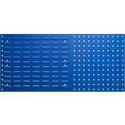 Bott Steel Louvered Panel Toolboard - Combo Perfo/Louvered Panels 39X18