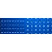 Bott 14025156.11 Steel Toolboard - Combo Perfo/Louvered Panels 59X18