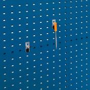 """Bott 15200268 Angled Peg Hooks For Perfo Panels - Package Of 10 - 2""""L"""