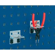 """Bott 15200271 Plier Hooks For Perfo Panels - Package Of 10 - 2""""W"""