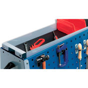 "Bott Upper Storage Tray With Mat For Perfo-Tool Trolleys - For 47""H Trolleys"