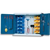 """Bott Wall-Hung Tool Storage Cabinet - 36-3/8X11-3/4X27-5/8"""" - Perfo Doors"""