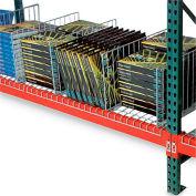 """Kwik Klip Wire Decking Divider - 34""""D x 10""""H"""
