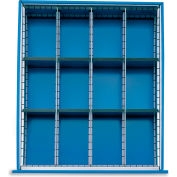 Relius Elite Extra Drawer Dividers For Premium Bench Truck Divider Kits - Fits 6075600