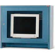 Relius Solutions Monitor Hood For Mobile Computer Cabinets Blue