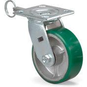 "Medium-Duty Economical Casters - Swivel - 5""Dia.x2""W Polyurethane Wheel"